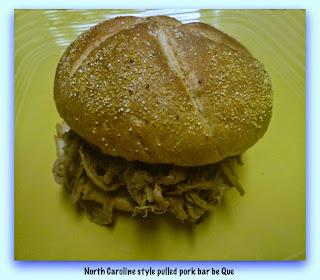 Crock pot N.C. barbecue recipe