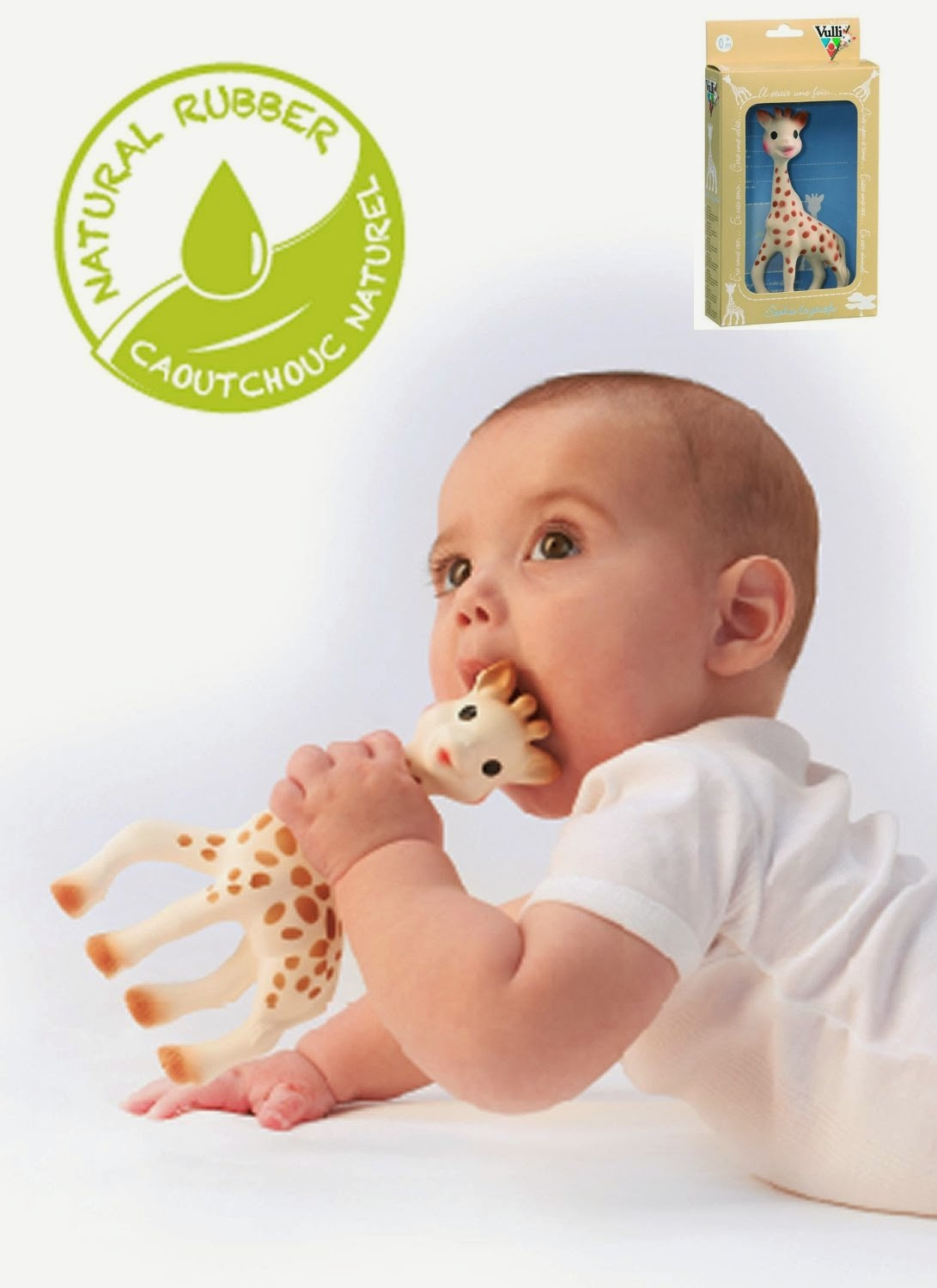 Baby Teether,  Vulli Sophie the Giraffe Teether