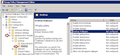 How to apply desktop wallpaper via Group Policy