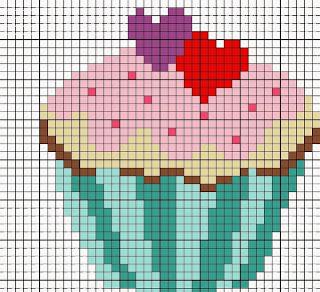 http://eltallerdeire.blogspot.com.es/2014/01/patrones-de-cupcakes-en-punto-de-cruz.html