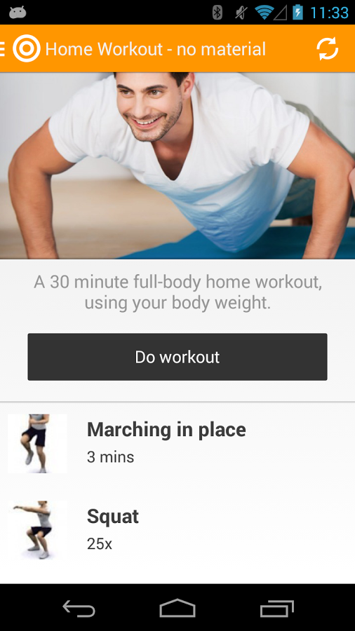 Fitness app, improve your health, fitness
