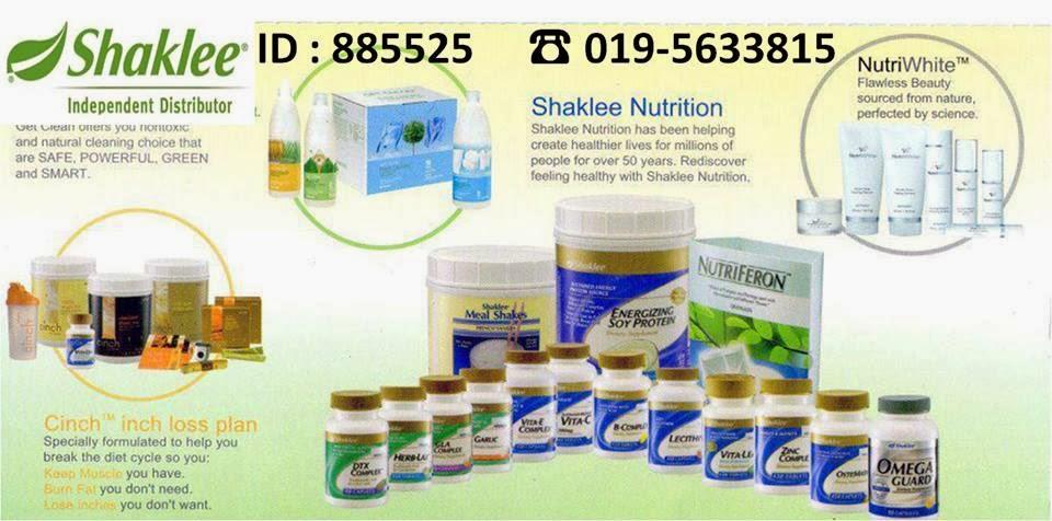 Vitamin Shaklee Untuk Kesihatan Seisi Keluarga