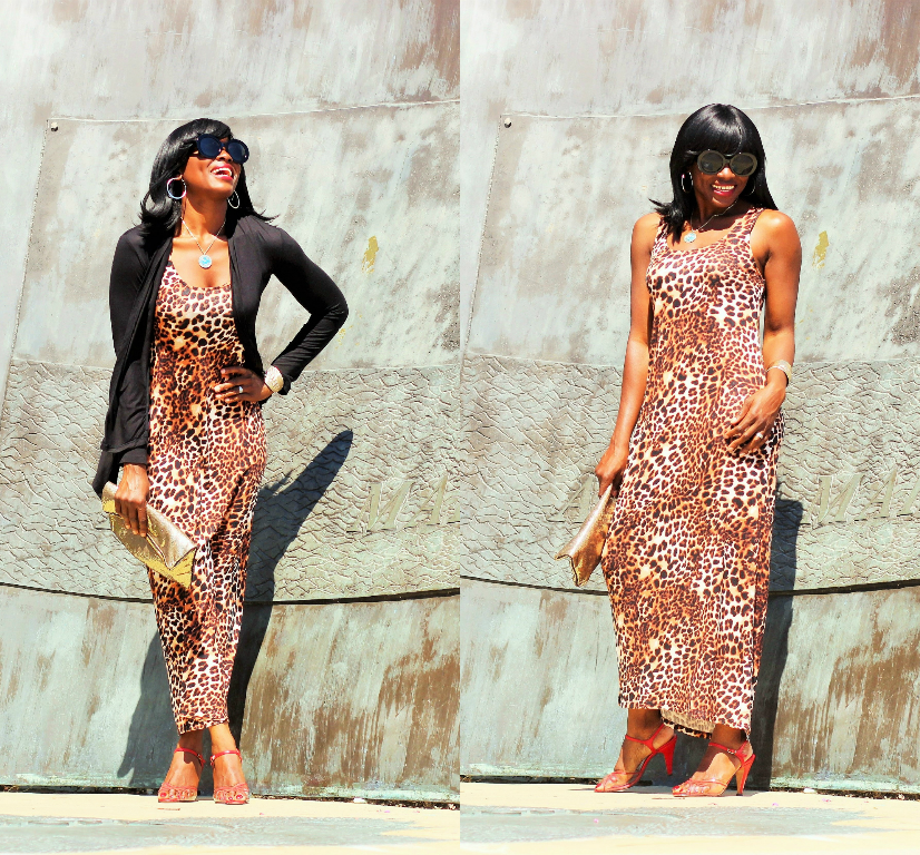 Perfect Animal Print Maxi Dress