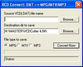 how to play vcd dat file