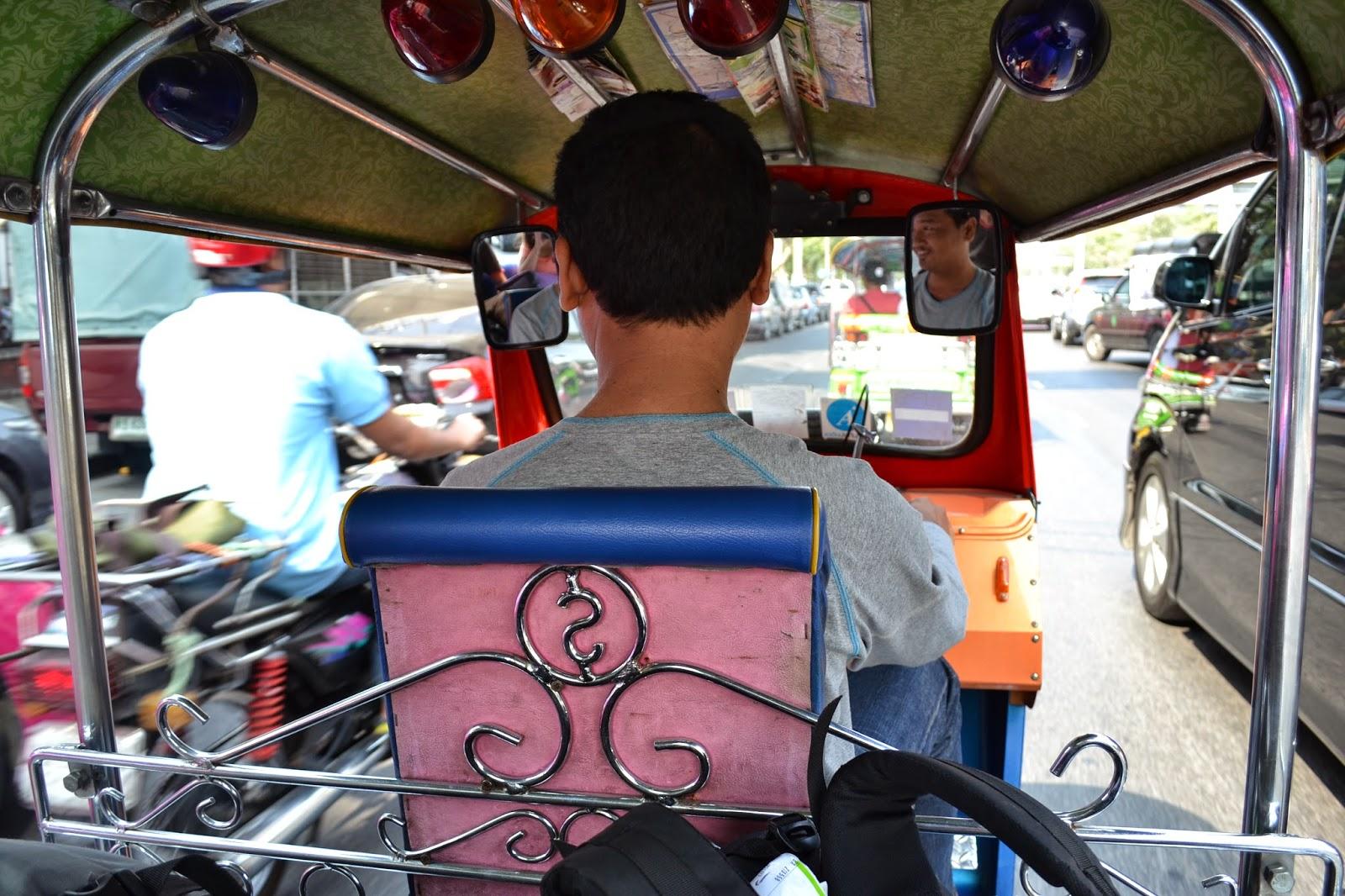 Thaïlande, Bangkok, voyage, tuktuk