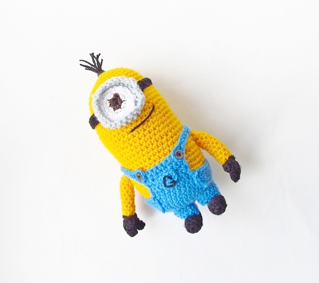 Amigurumi Minion Tarifi : Amigurumi Despicable Me Minion - Little Things Blogged