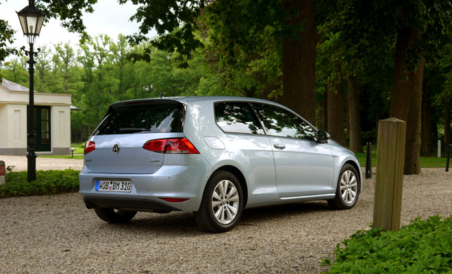 VW Golf 7 BlueMotion three door version