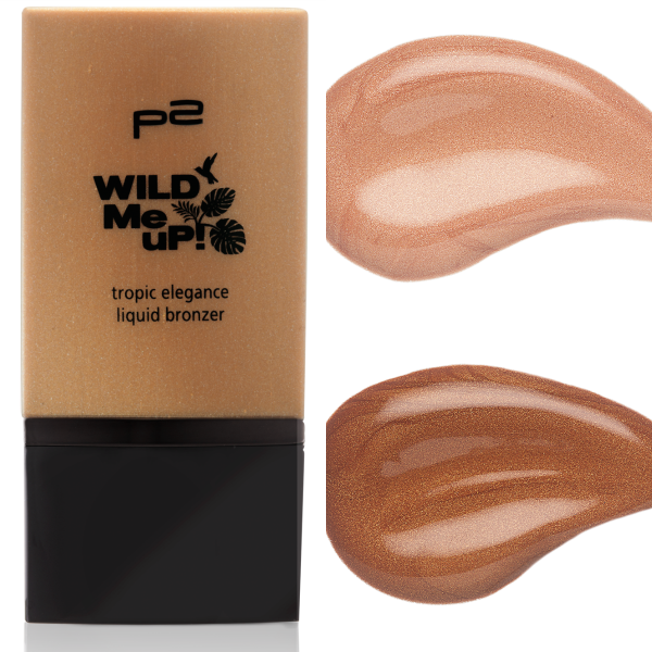 p2 wild me up TROPIC ELEGANCE liquid bronzer
