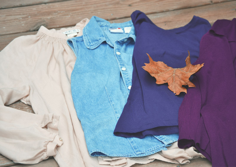 The Flying Clubhouse: Thrifty Fall Shopping - tops