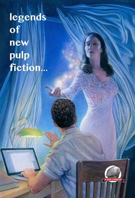 Legends of New Pulp Fiction featuring a short story by Tony Sarrecchia