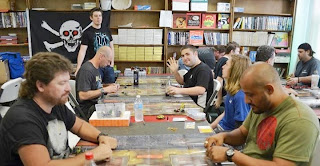 HeroClix game event at comic book store