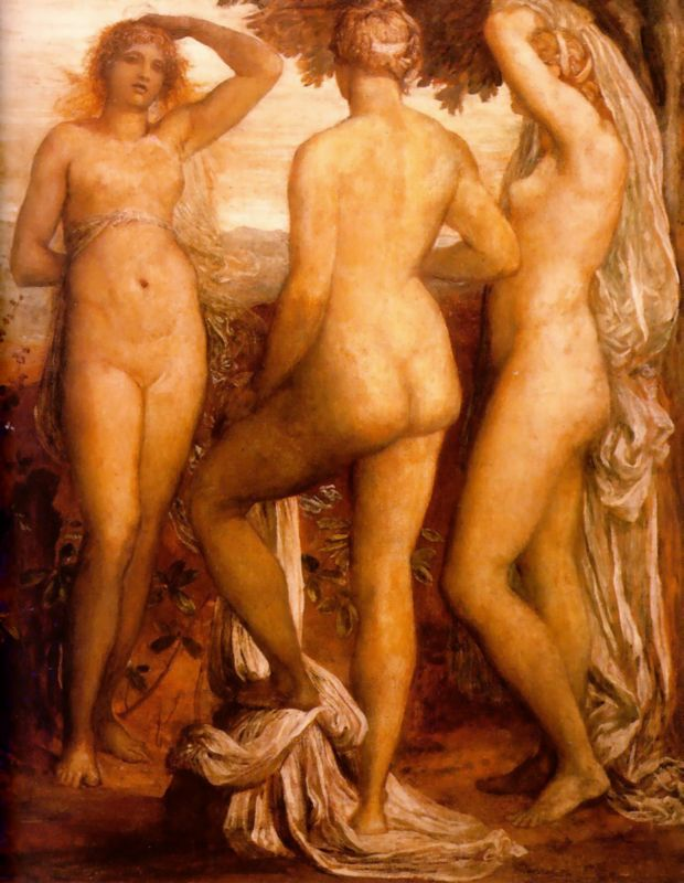 george frederick watts three graces