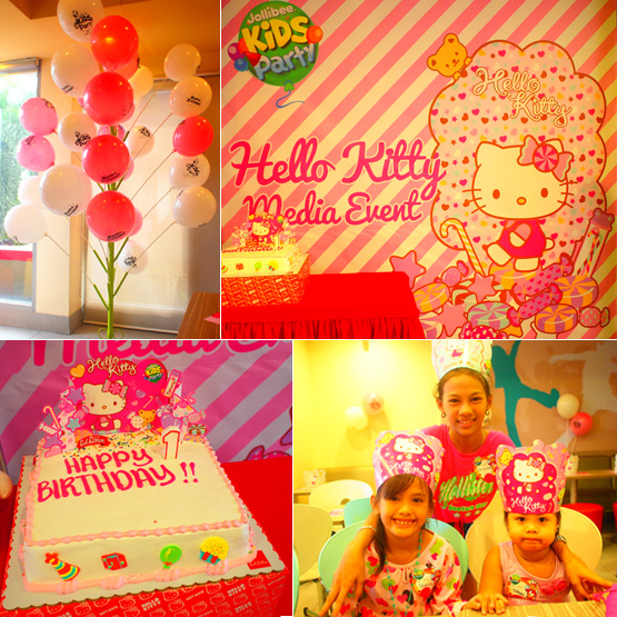 Hello Kitty Kiddie Party At Jollibee :)