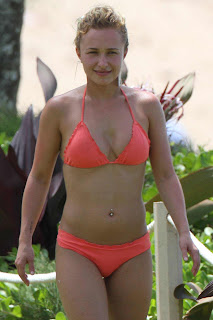 Hayden Panettiere Bikini Candids