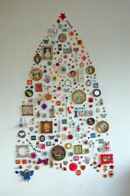 alternatív karácsonyfa