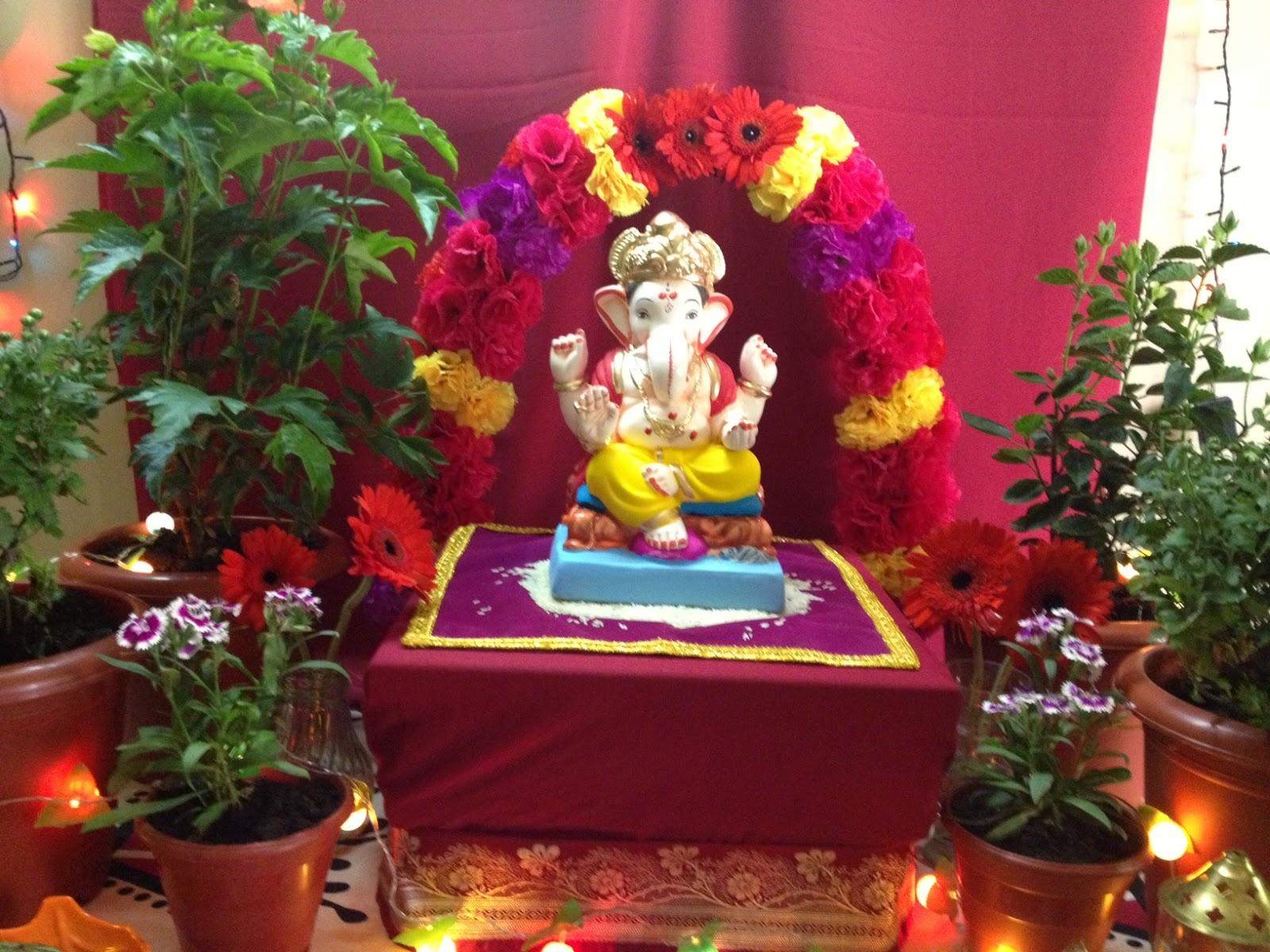 Ganapati Decorations