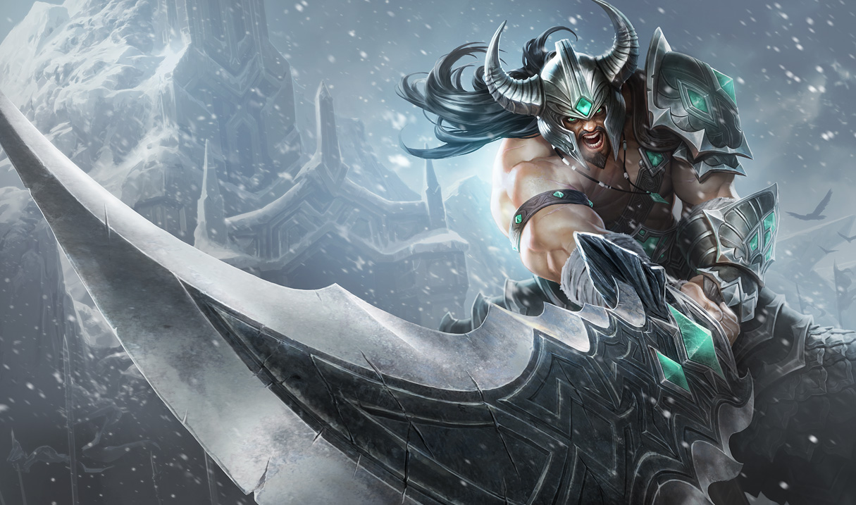 League Of Legends Champion Tryndamere