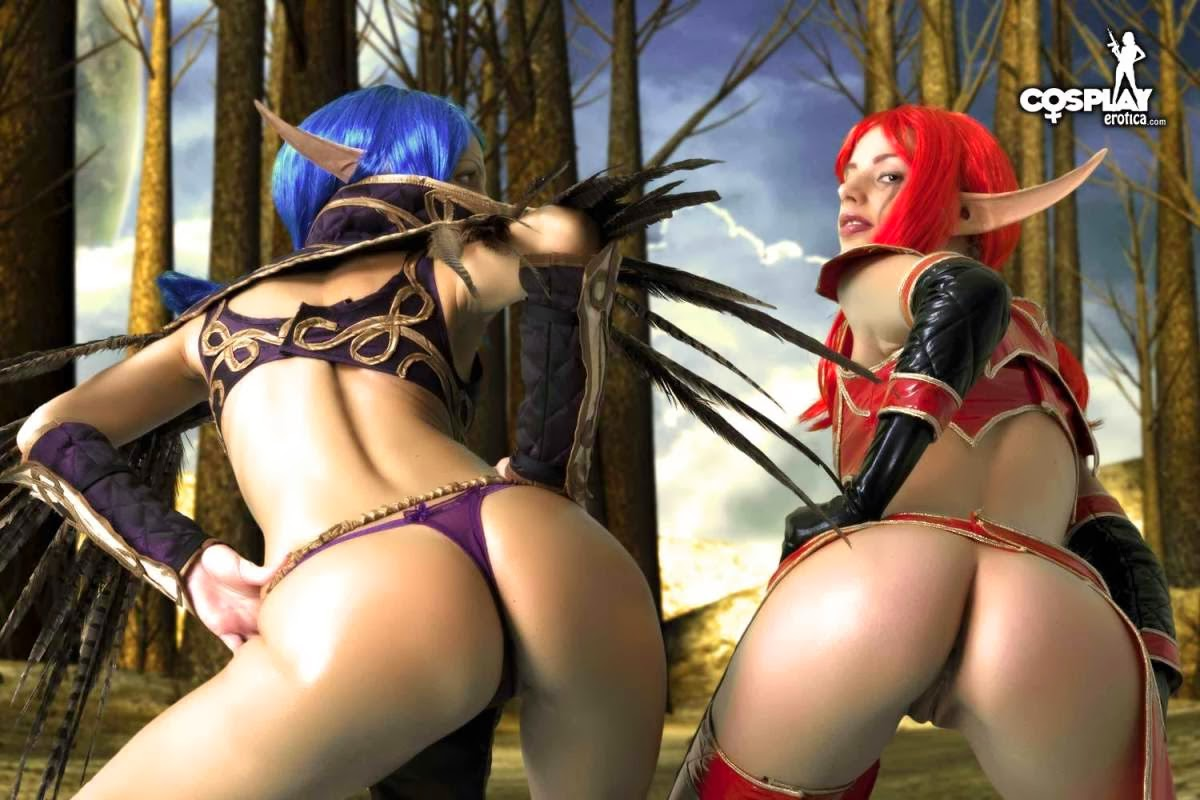 Girls fucked in warcraft costumes hentai video