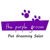 The purple groom
