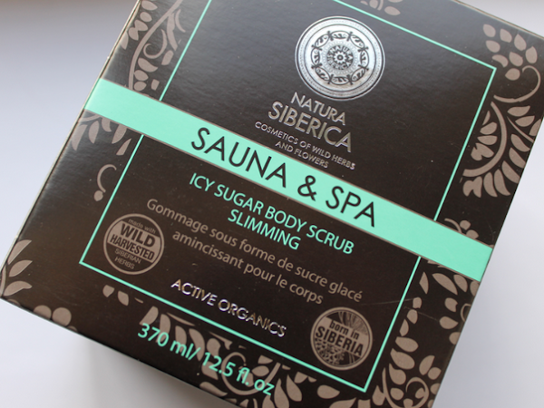 Natura Siberica Sauna & Spa Icy Sugar Body Scrub.