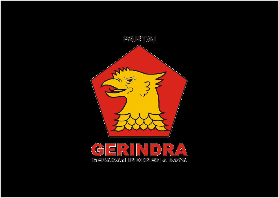 Download Logo Partai Gerindra Terbaru Vector Cdr