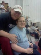 ME AND RYAN 2012 AT AREA 1 SPEICAL OLYMPICS MEET