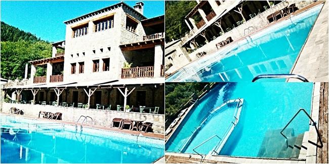 Instagram @lelazivanovic. Acheloides hotel, Kalliroi, Greece.