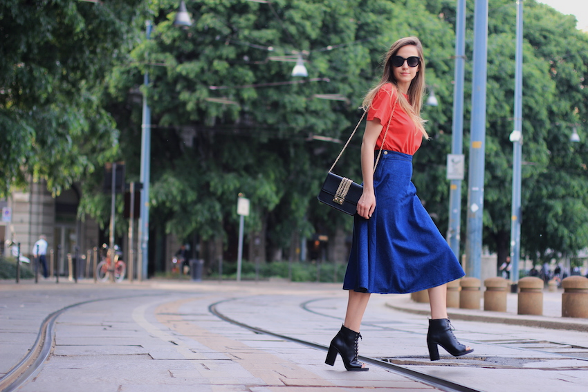 street style milan skirt from style moi