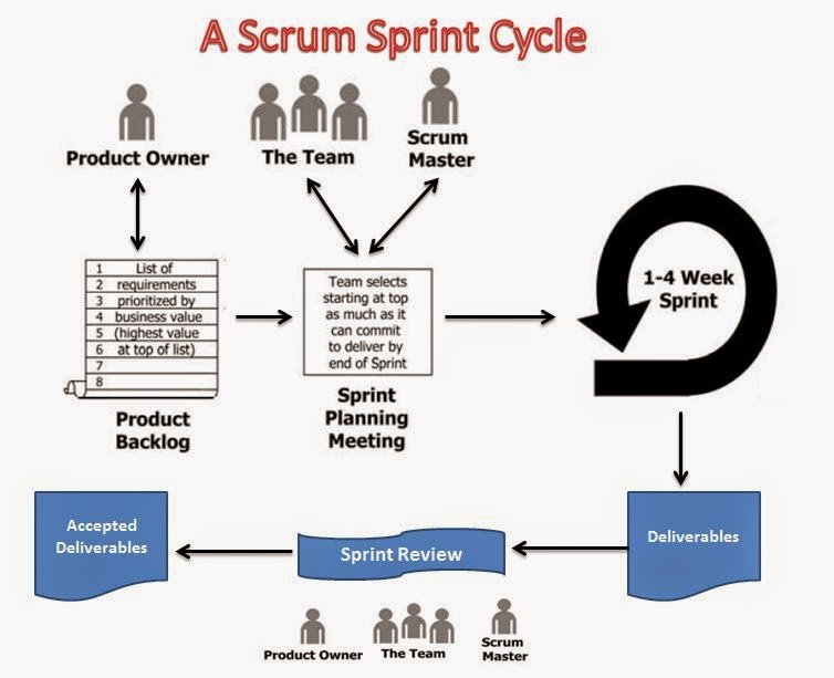 Sprint Cycle Scrum a Scrum Sprint