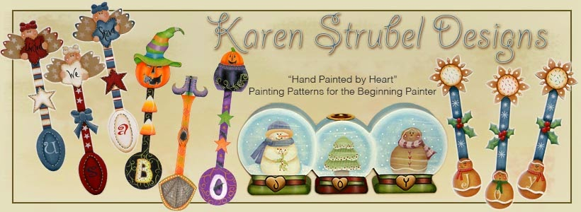 Karen Strubel Designs for the Decorative Painter