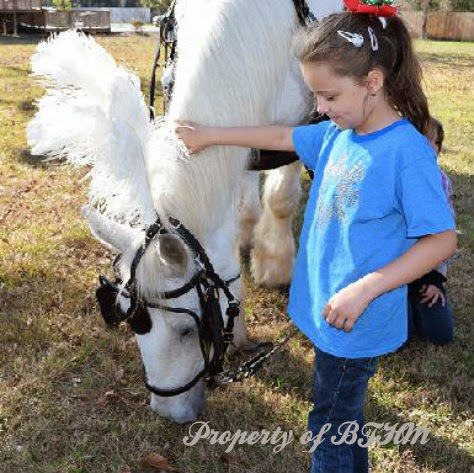grace with horse