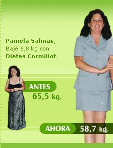 adelgazar 7 kilos 58 kilos 65 kilos dieta cormillot resultados exitosos