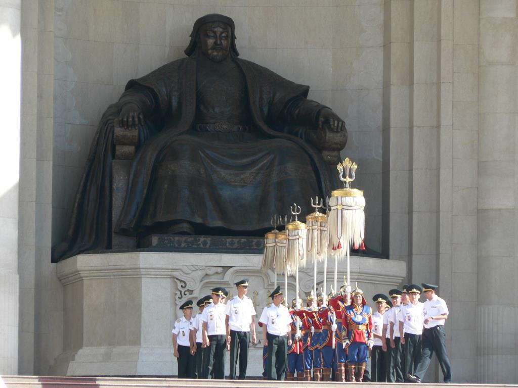 The Nine White Banners Of Mongolia A Picture And Few Lines