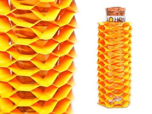 design de embalagem - food packaging design - Honeycomb