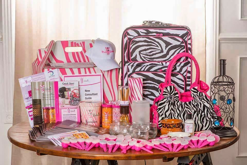 2015 Pink Zebra Deluxe Business Kit image