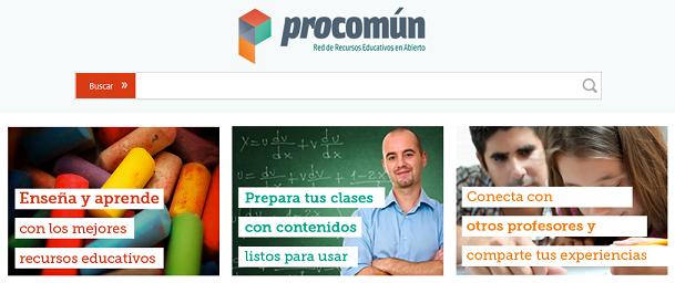 http://procomun.educalab.es/comunidad/procomun