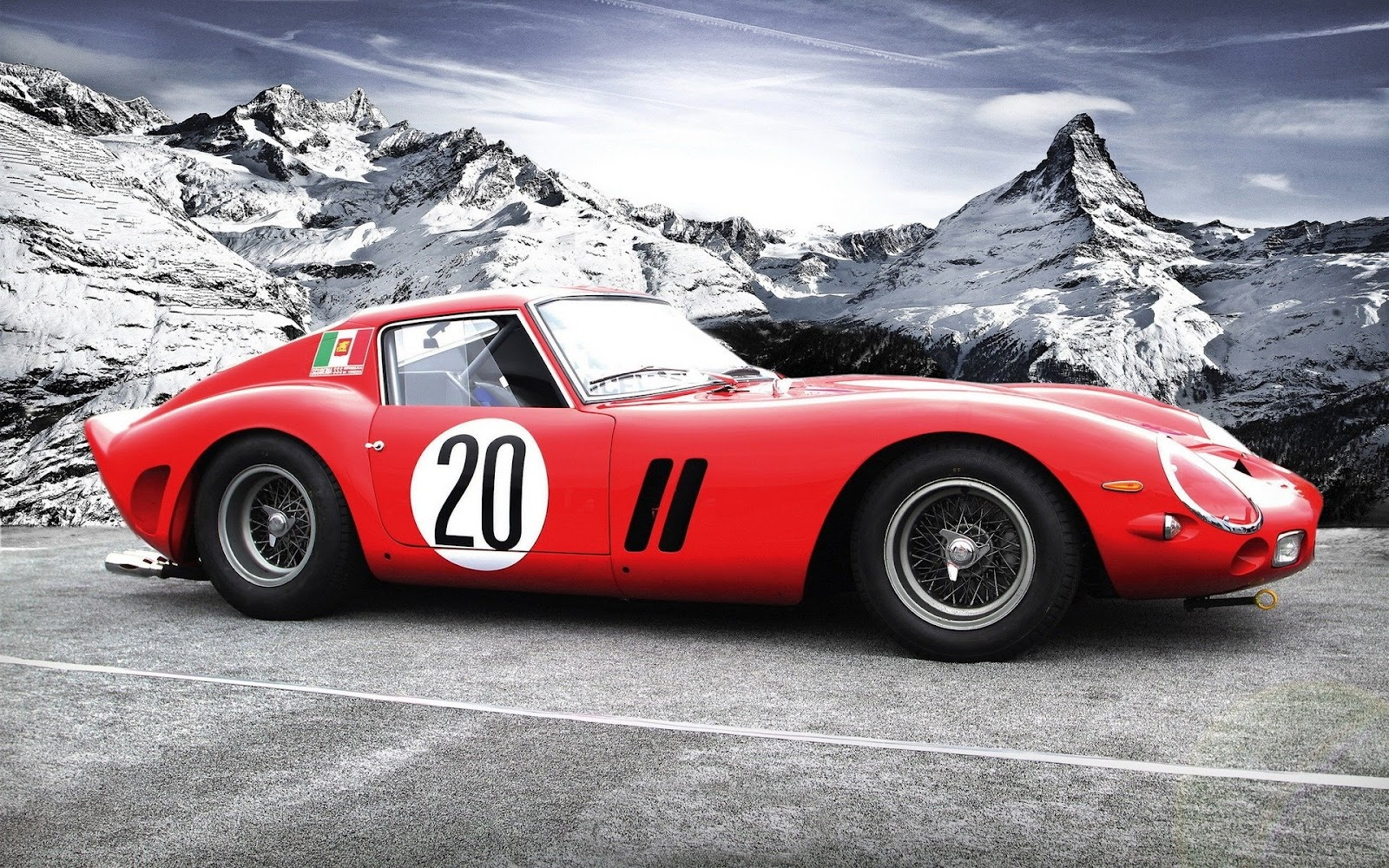 wallpapers of beautiful cars ferrari 250 gto. Black Bedroom Furniture Sets. Home Design Ideas