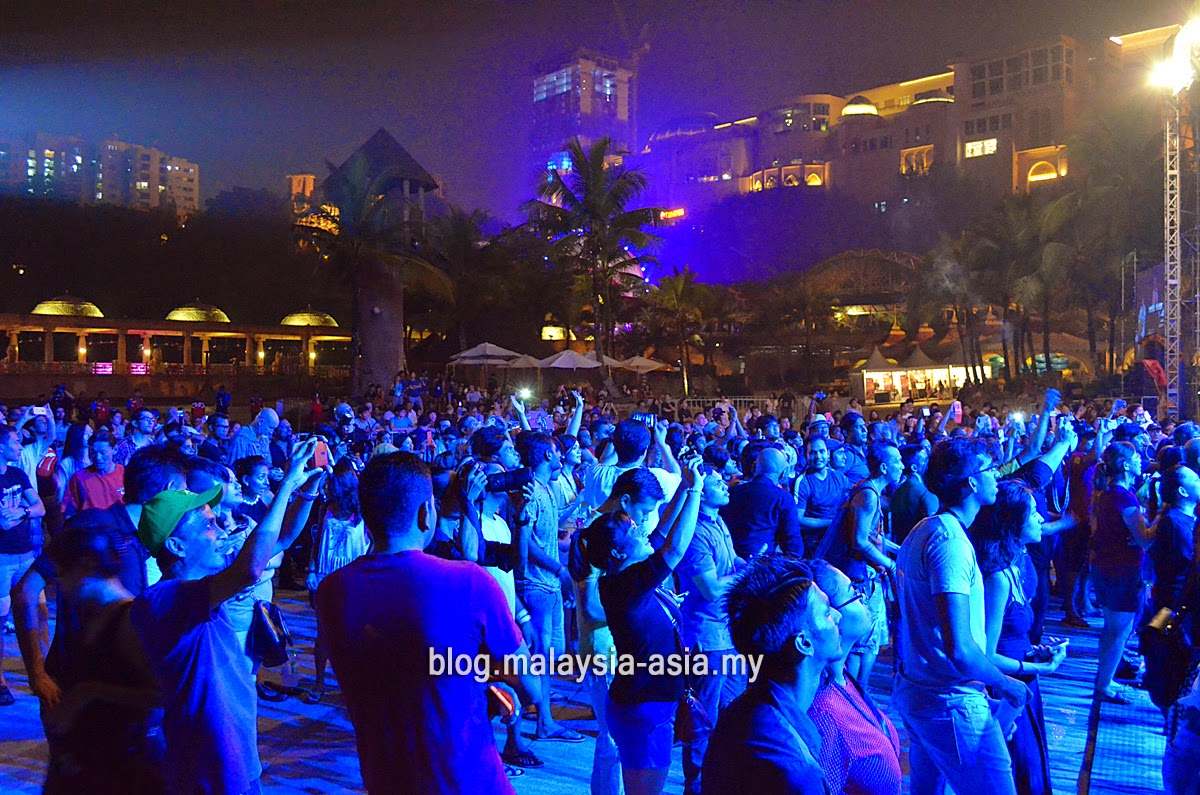 Crowd at My Music Festival 2015