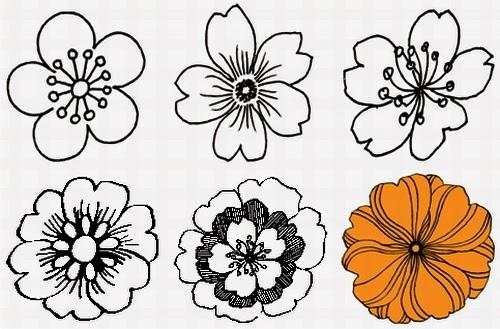 Wallpapers Motif Batik Bunga Simple