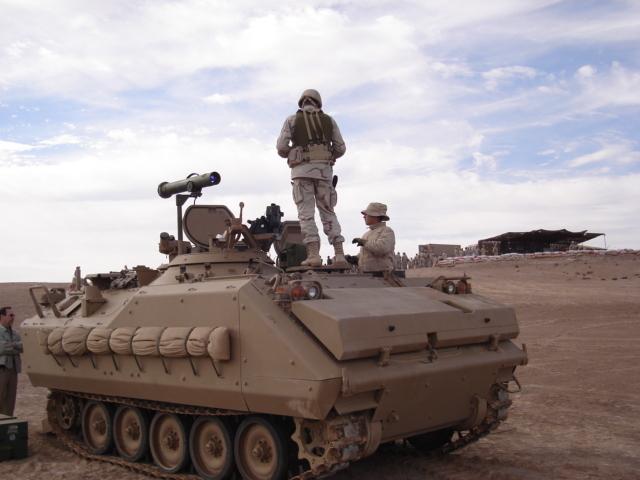 Fuerzas Armadas de Chile AIFV+Chileno+(con+Spike)