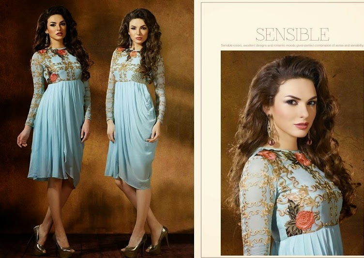Indian Embroidered Tunics Fashion