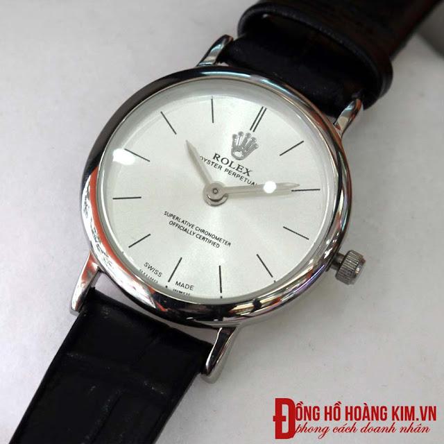 Đồng hồ rolex nữ dây da giá rẻ dưới 500 nghìn