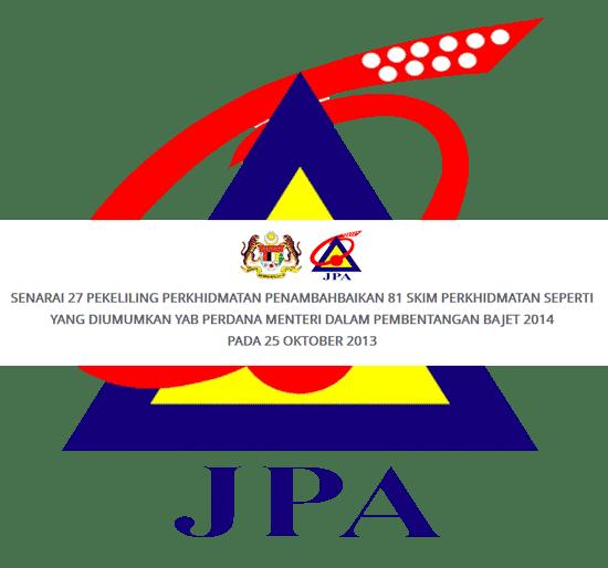 Pekeliling JPA Penambahbaikan 81 Skim Perkhidmatan Awam Malaysia