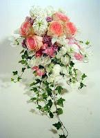 Hoa cưới kiểu thác đổ 5