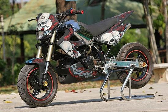Modifikasi Kawasaki KSR 110 Racing