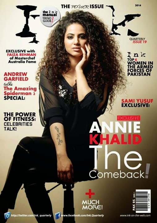 Ink Launches its Power 2014 Issue With Annie Khalid