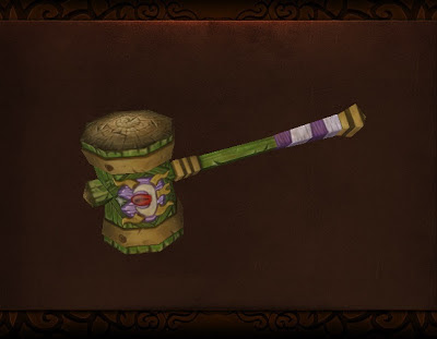 WoW – Darkmoon Hammer Papercraft