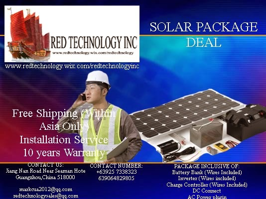 Solar Package Deal From Red Tech
