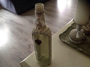 versierde fles