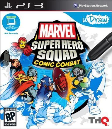 Marvel super hero squad comic combat carátula y tráiler